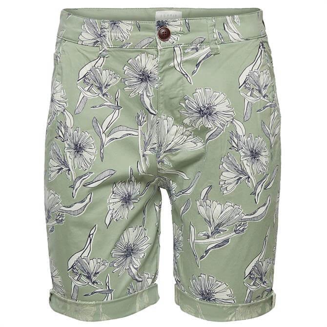 Esprit Mens Tropical Print Shorts