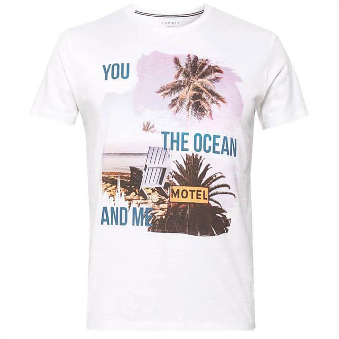 Esprit Photo Print Summer T-Shirt