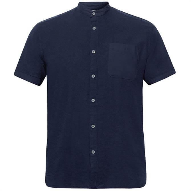 Esprit Short Sleeve Waffle Cotton Shirt