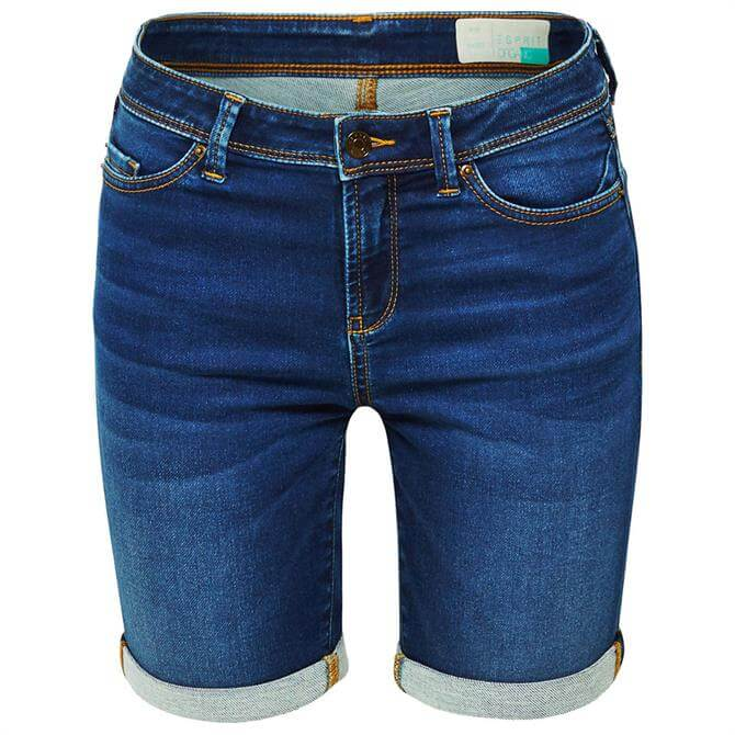 Esprit Organic Cotton Denim Shorts