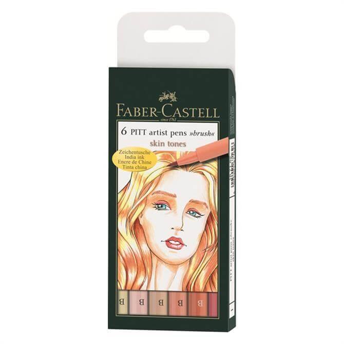 Faber Castell Pitt 6-Pencil Wallet