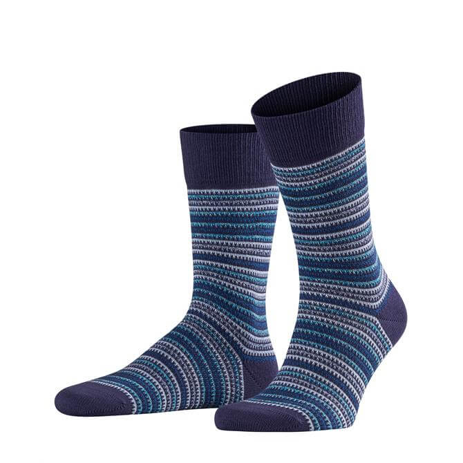 Falke Men's Multi Stripe Socks