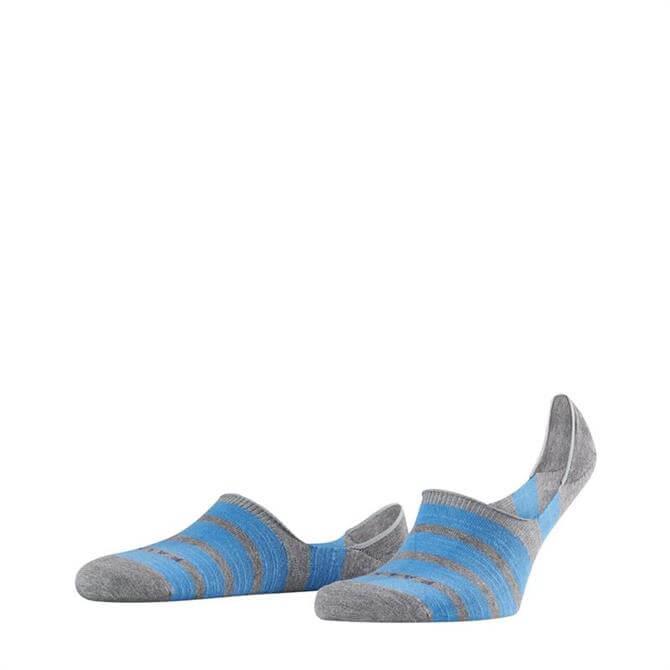 Falke Men's Even Stripe No Show Socks
