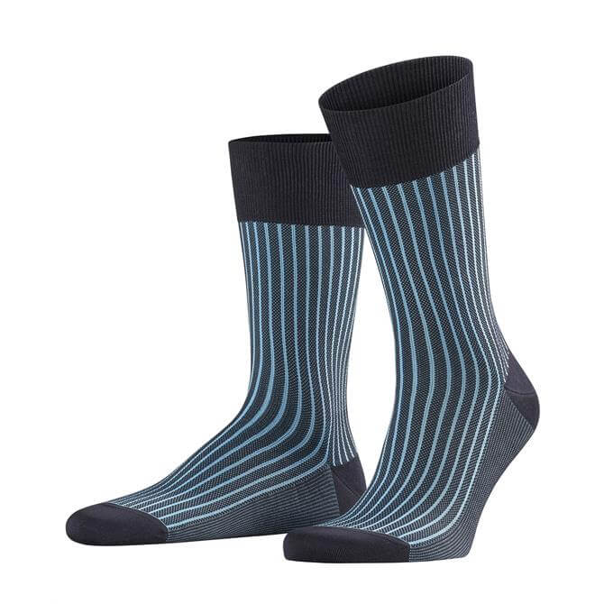 Falke Men's Oxford Stripe Socks SS19