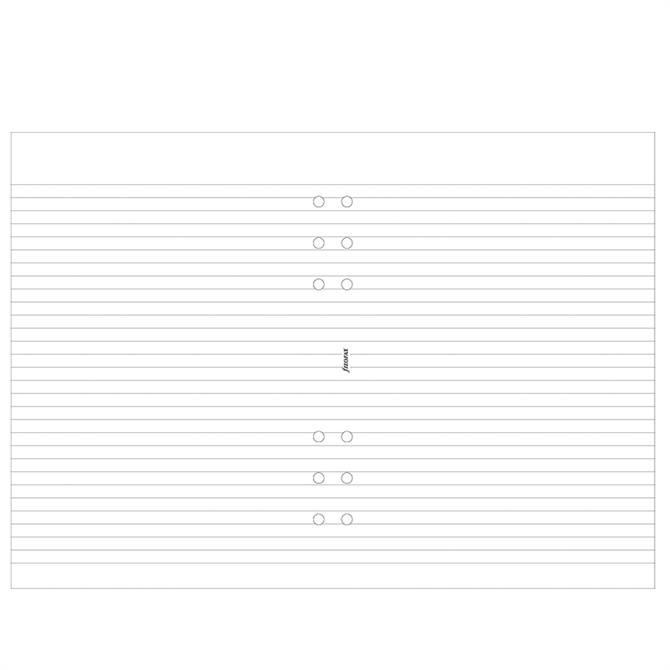 Filofax A5 Diary Ruled Notepad Refill