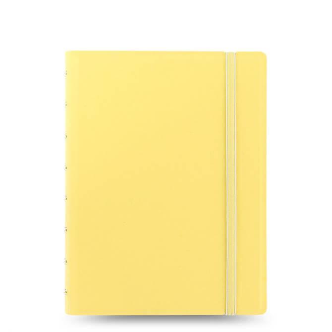 Filofax A5 Classic Pastel Notebook Lemon- 115061