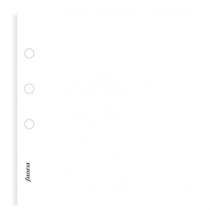 Filofax A5 Plain Notepaper