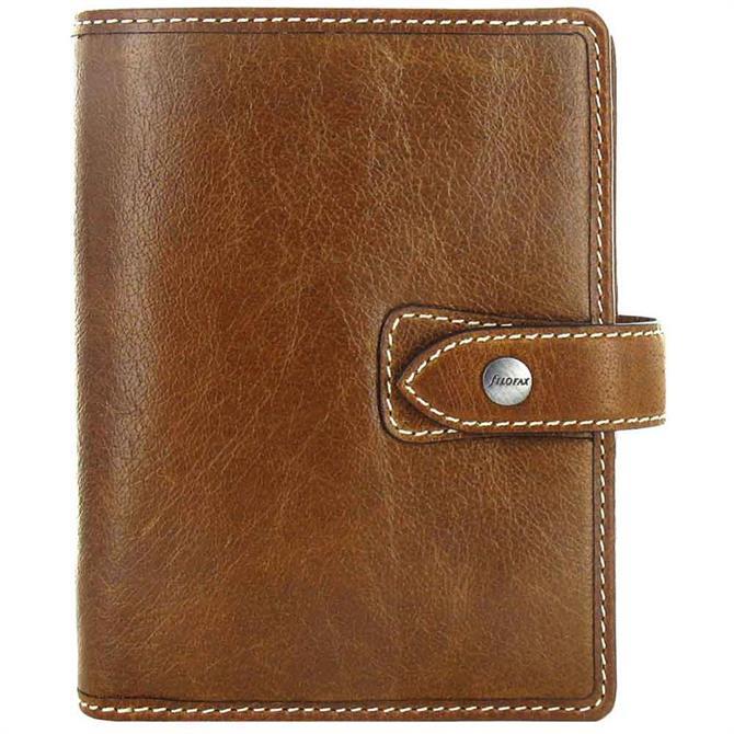 Filofax Pocket Malden Organiser - Ochre
