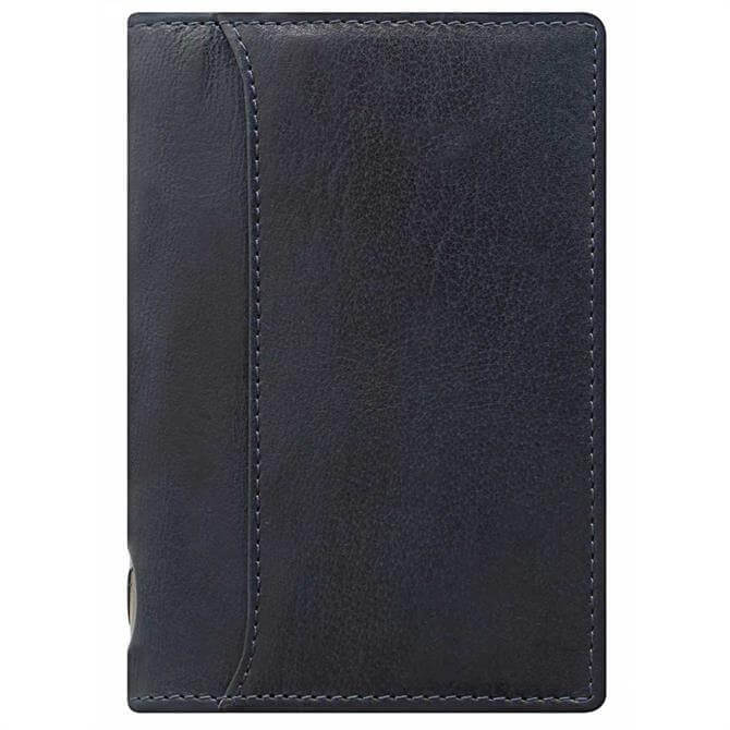 Filofax Pocket Slim Lockwood Binder - Navy