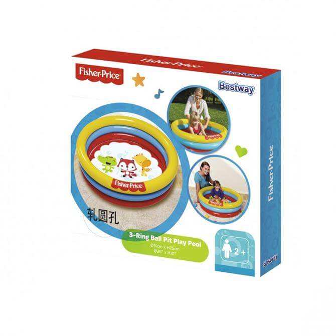 Fisher Price Three Ring Ball Pit Play Pool