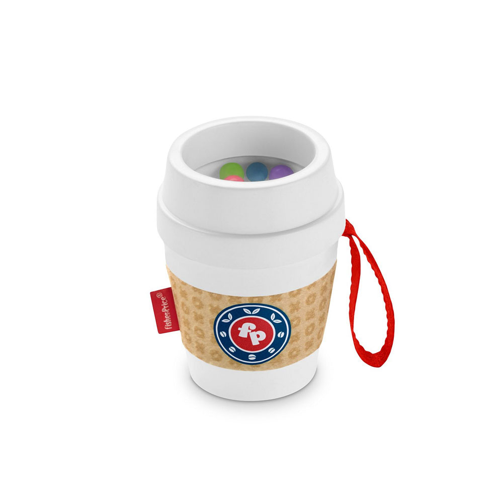 An image of Fisher-Price Coffee Cup Teether