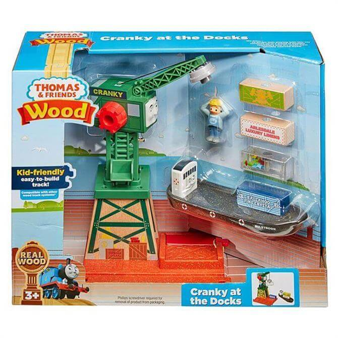 Thomas & Friends Wood Cranky at the Docks Playset