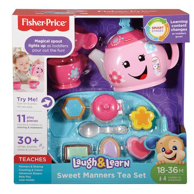 Fisher Price Laugh and Learn Sweet Matters Tea Set