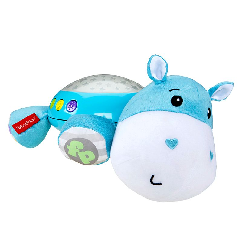 An image of Fisher Price Hippo Snuggle Soother