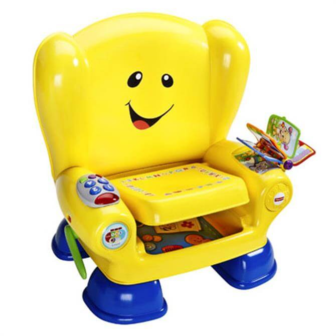 Fisher Price Laugh & Learn Smart Stages Yellow Musical Chair