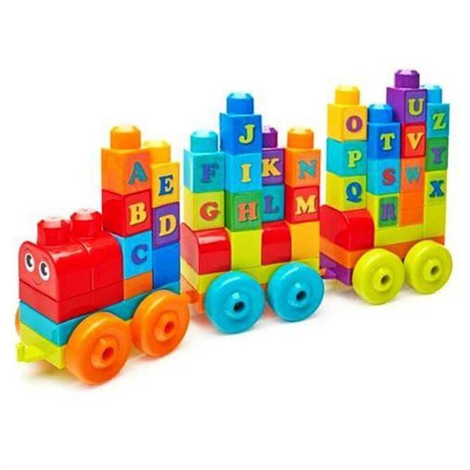 Mattel Mega Bloks ABC Learning Train
