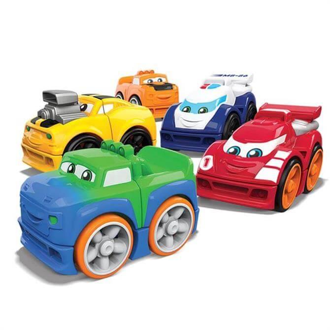 Mattel Mega Bloks 1st Racers Assorted