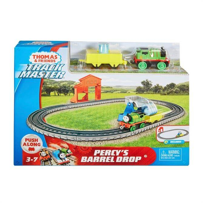 Thomas & Friends Trackmaster Percy's Barrel Drop