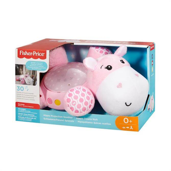 Fisher Price Pink Hippo Soother