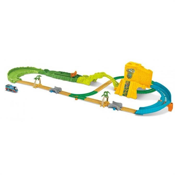 Thomas & Friends TrackMaster Turbo Jungle Playset