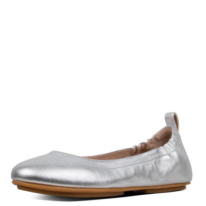 FitFlop™ Allegro™ Leather Ballerinas