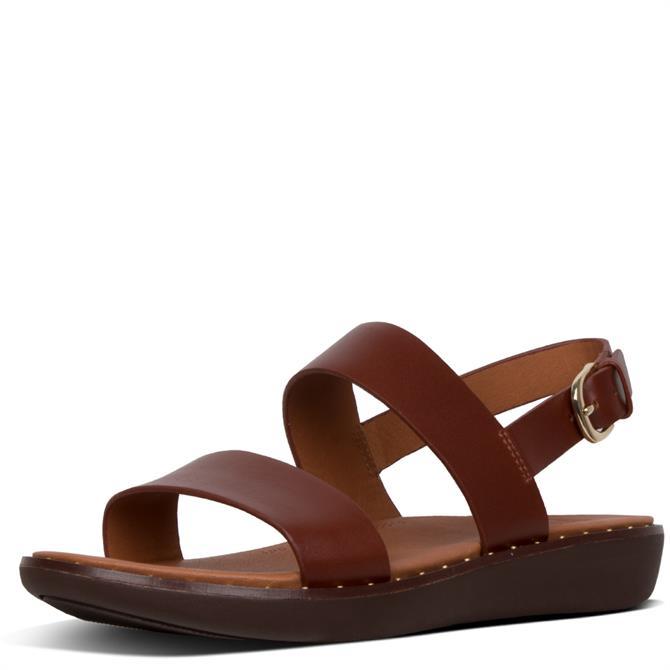 FitFlop™ Barra™ Leather Back-Strap Sandals