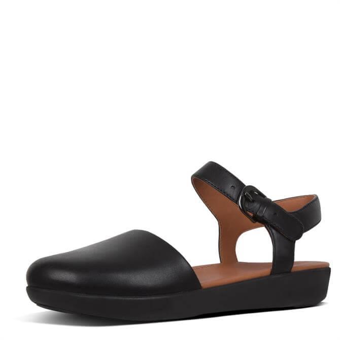 FitFlop™ Cova™ Ii Metallic Leather Closed-Toe Sandals