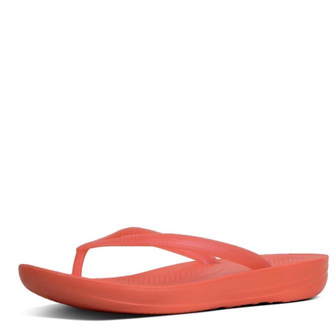 FitFlop™ Iqushion™ Pearlised Ergonomic Toe-Thongs