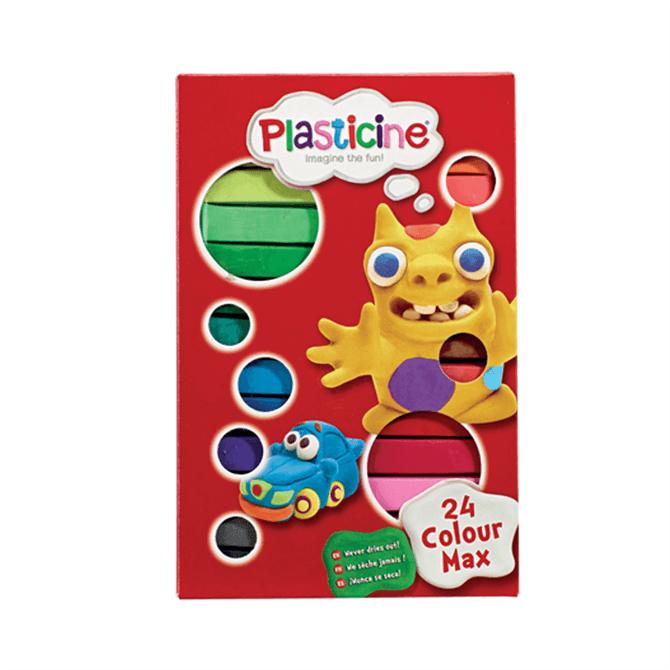 Flair Plasticine 24 Colour Max