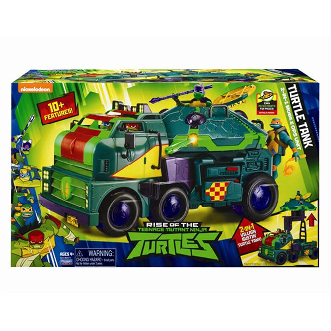 The Rise of The TMNT Turtle Tank