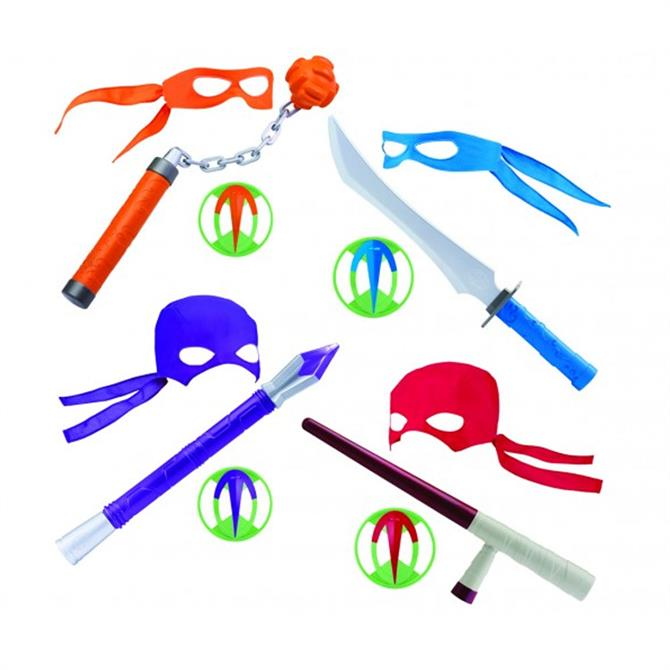 The Rise of The Teenage Mutant Ninja Turtles Weapon Assorted