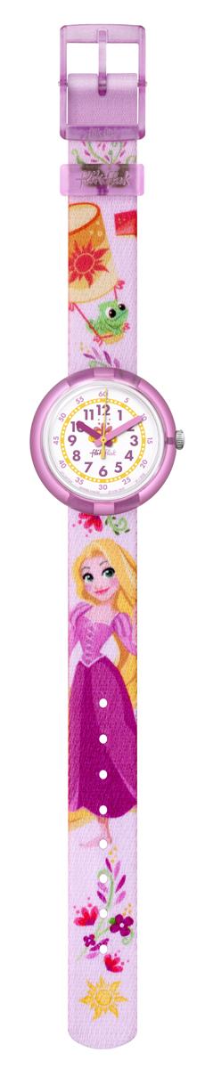 An image of Flik Flak Disney Rapunzel Watch