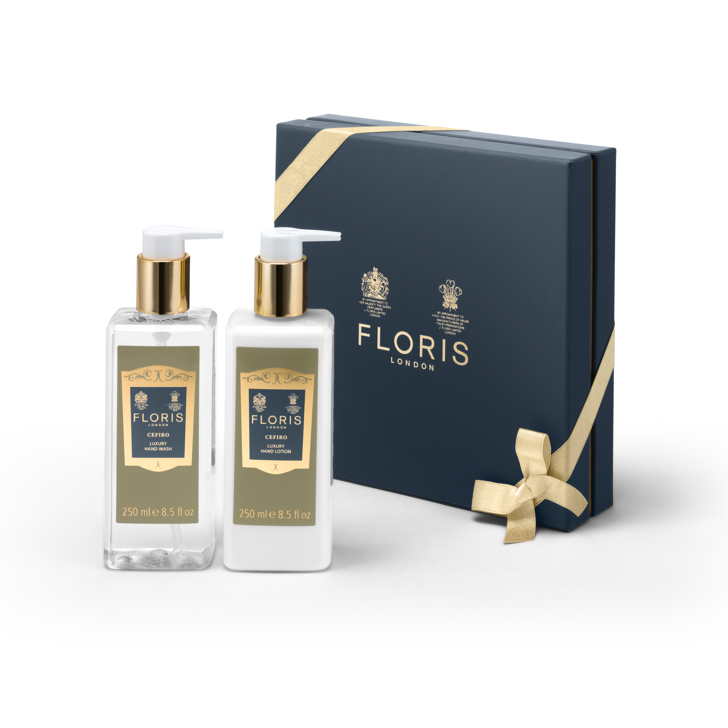 An image of Floris Cefiro Luxury Hand Wash and Lotion Duo
