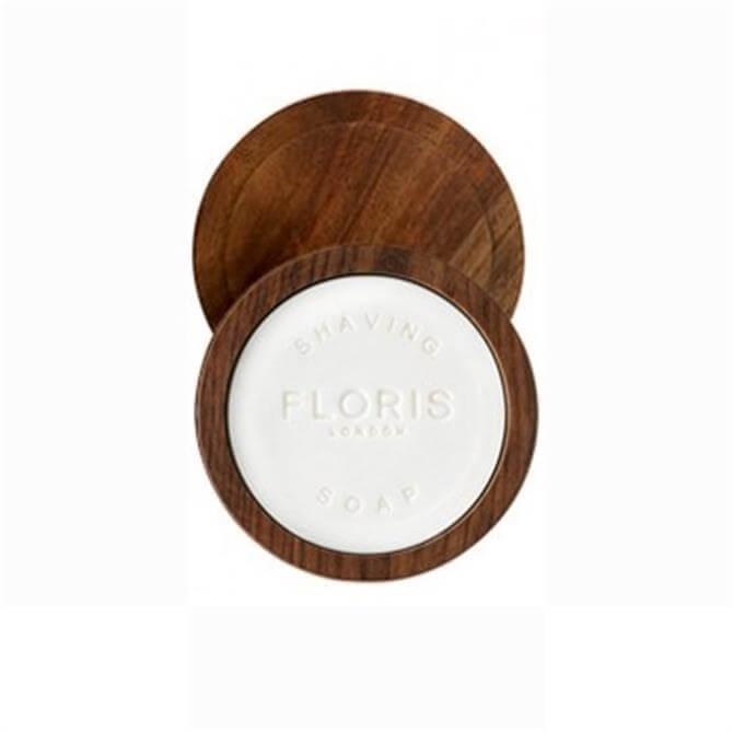 Floris The Gentleman No 89 Shaving Soap In Wooden Bowl 100g