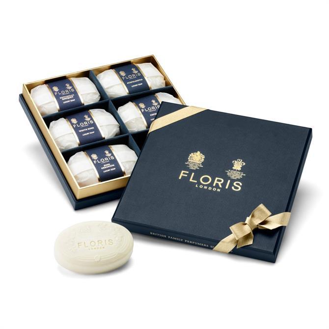 Floris Luxury Soap Collection Set 6 x 100g