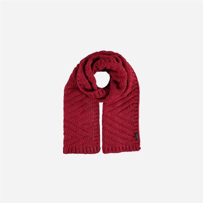Fraas Ladies Wool Blend Knit Plain Scarf