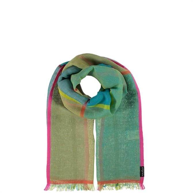 Fraas Graphic Print Cotton Blend Ladies Scarf