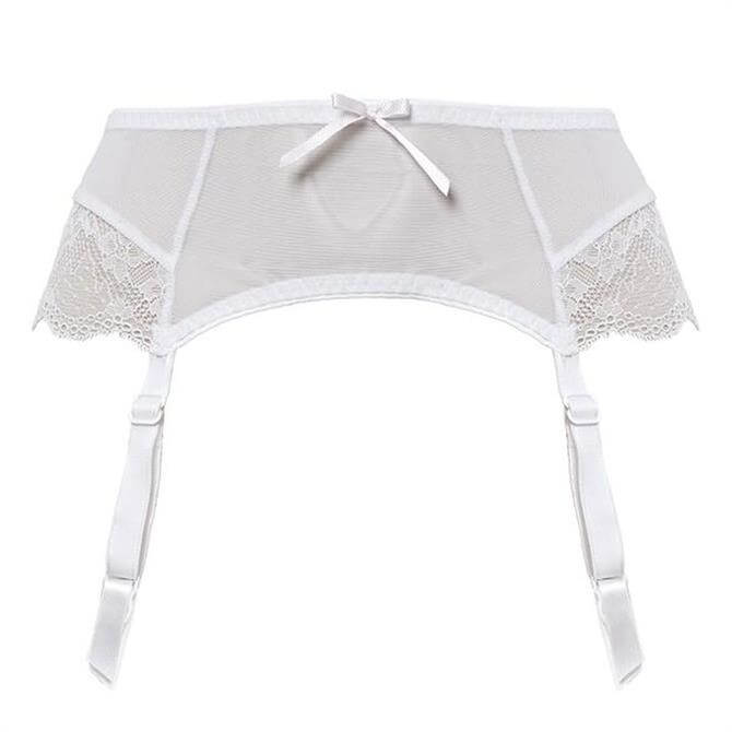 Freya Fancies White  Suspender Belt