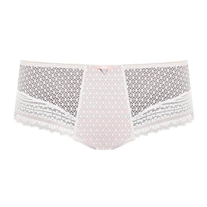 Freya White Daisy Lace Short Brief