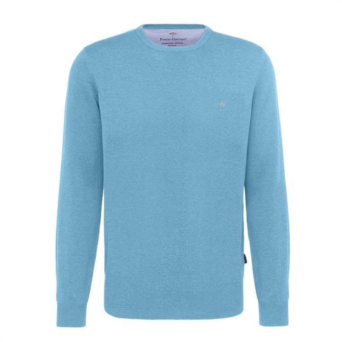 Fynch Hatton Crew Neck Cotton Sweater