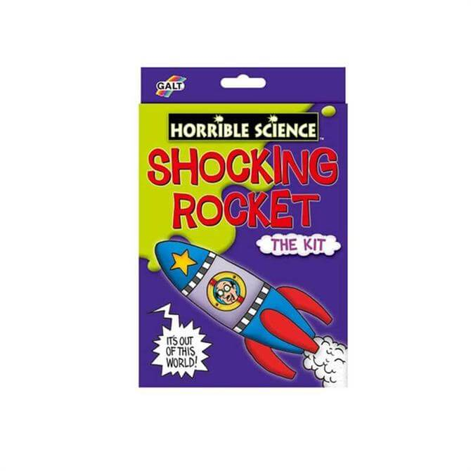 Horrible Science Shocking Rocket