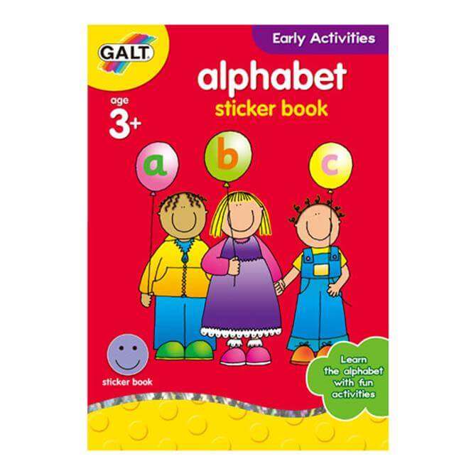 Galt Alphabet Sticker Group