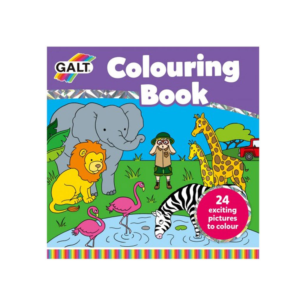 An image of Galt Colouring Book