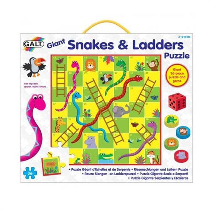 Galt Giant Snakes And Ladders