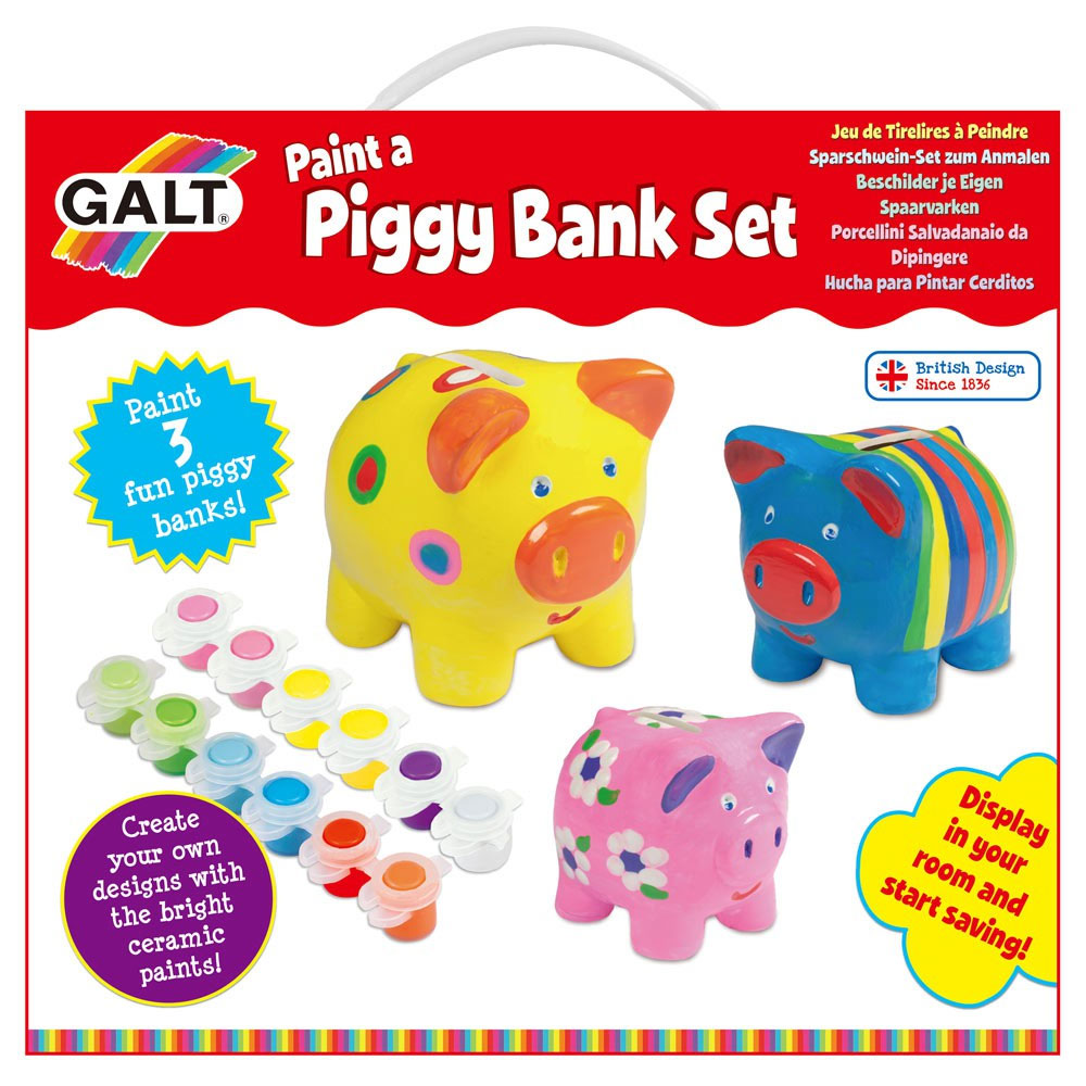 An image of Galt Paint A Piggy