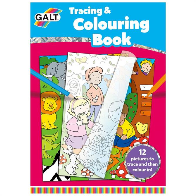 Galt Trace And Colour Book