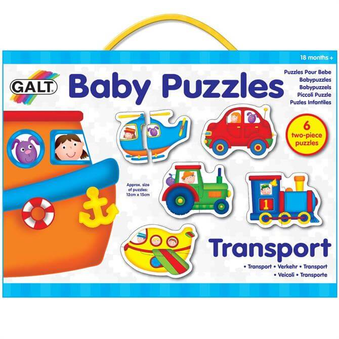 Galt Transport Baby Puzzle