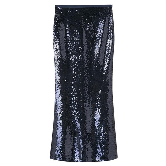GANT Full Length Sequin Skirt