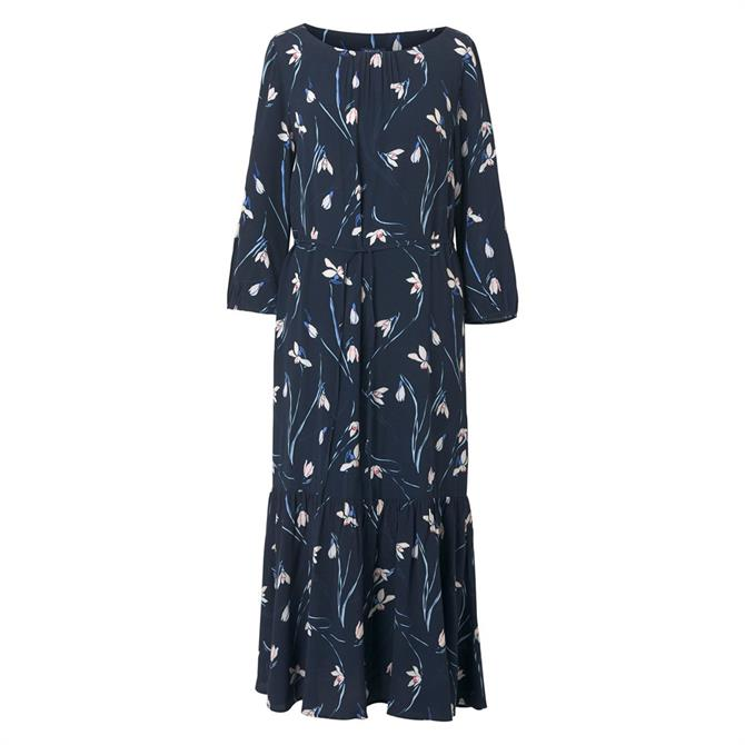 GANT Snowdrop Ruffle Dress