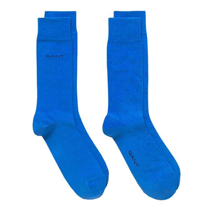GANT O2 2-Pack Micro Dot Socks